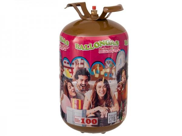 Helium XL Flasche Ballongas für 100 Ballons